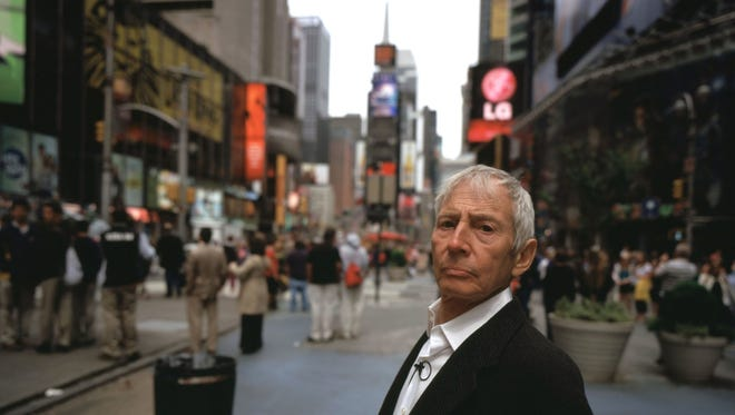 "Robert Durst in the HBO documentary, ""The Jinx."""