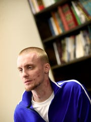Lebanon native and recovering addict Andrew Beenick