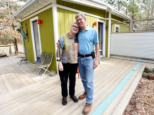 Dawson and Wanda Anglin's home on Folly Ranch.