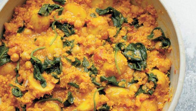 Chickpea, Quinoa and Turmeric Curry