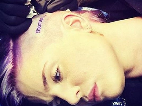Kelly Osbourne's new tattoo (c) Instagram