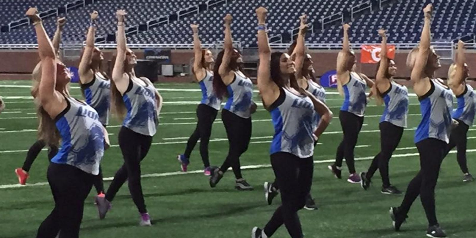 28 Things You Need To Know About The Lions Cheerleaders