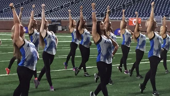 The 28 finalists to become Lions cheerleaders performed in an empty Ford Field on Thursday. This will be the first time the Lions have had cheerleaders since 1974. The team anticipates introducing the final squad sometime in mid-August.