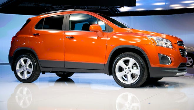The 2015 Chevrolet Trax is about to go on sale. Here it is as it was unveiled at the New York Auto Show.