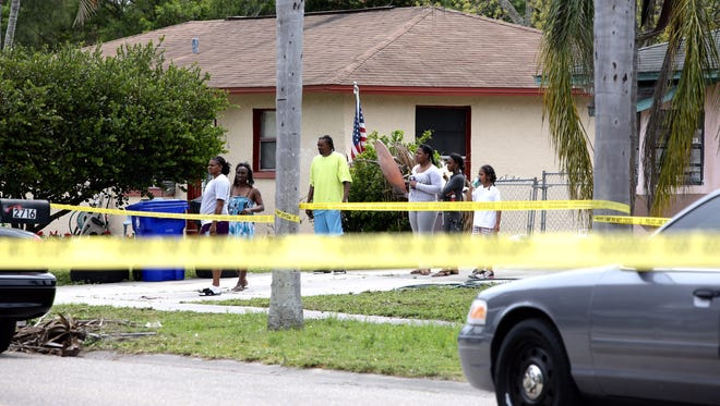 Two people shot, one killed in   Fort Myers drive-by shooting.