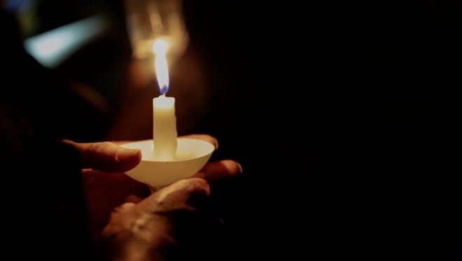 Lighting candles are part of many Winter Solstice or Yule ceremonies in the pagan community.