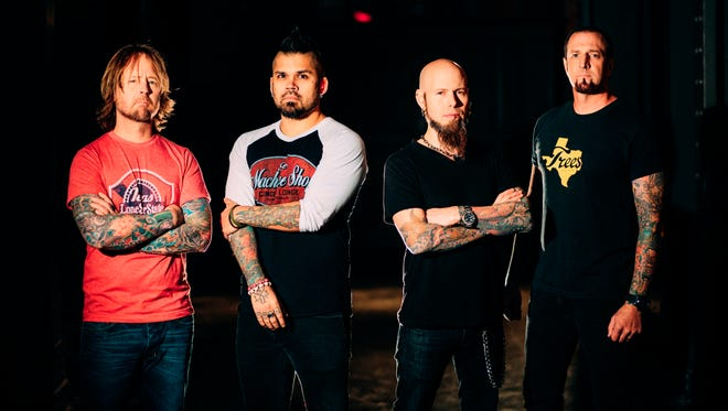 Drowning Pool will perform on Dec. 8 at The Whiskey Warehouse Bar & Grill.