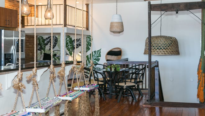Charity Evans' Commercial Street Airbnb loft..
