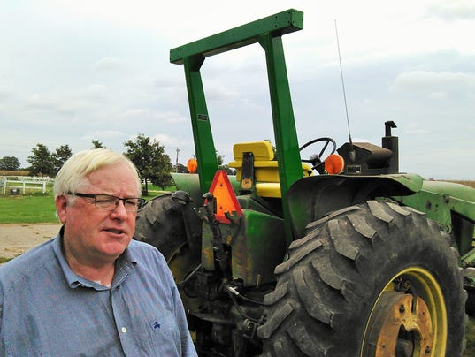Farm Tractor Roll Bars : Local s harvest wish a roll bar for every tractor