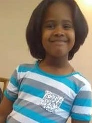 Eight-year-old Gabrielle Hill-Carter was Camden's 32nd