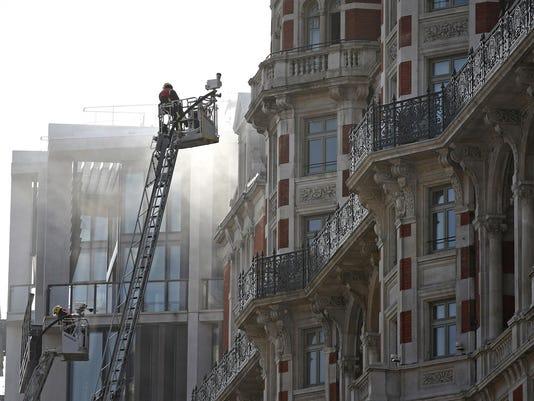Britain Hotel Fire