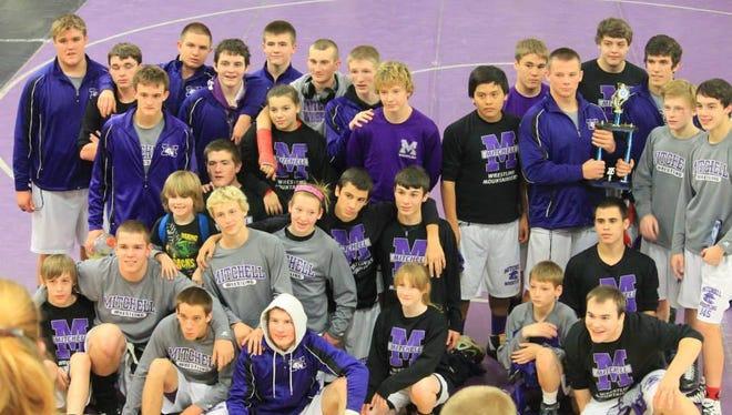 Mitchell's wrestling team.
