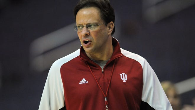 Indiana University's head coach Tom Crean.
