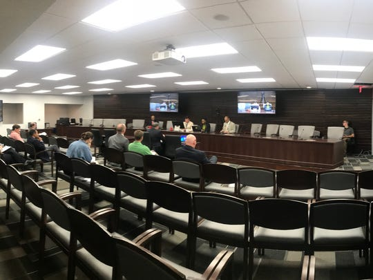 The Memphis City Council met for the first time Tuesday, Aug. 28, 2018, in its renovated committee room in City Hall.