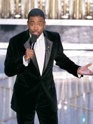 Chris Rock hosts the 77th Academy Awards telecast in