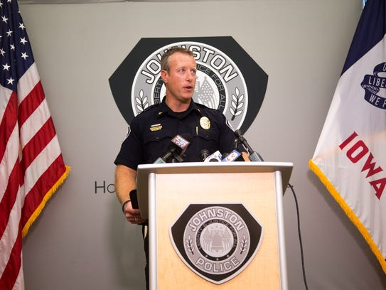 Johnston Police Chief Dennis McDaniel discuses threats