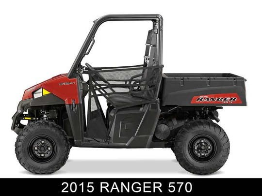 2015 and 2016 model year Polaris Ranger 570 recreational off-highway vehicles (ROVs) can overheat during heavy engine loading, slow-speed intermittent use and/or high outdoor temperatures and catch fire.