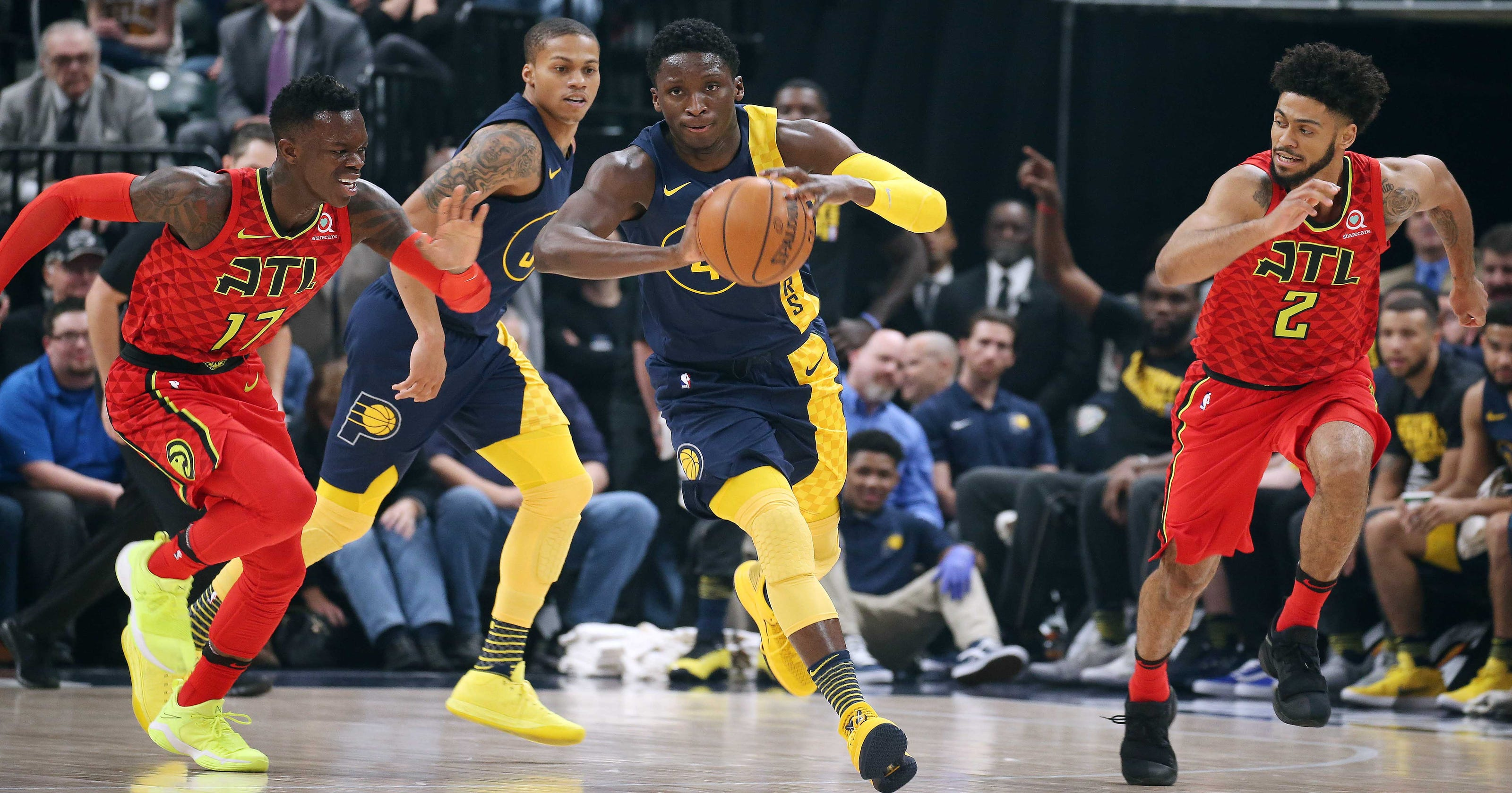 018558d82422 17 things to know about Victor Oladipo s steals streak for the Pacers