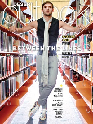 Sept. 2016 cover photographed at the Palm Springs Public Library.
