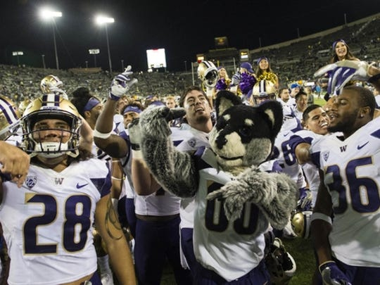 The Huskies have claimed control of the Pac-10.
