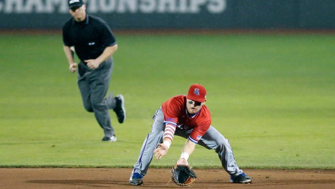 Louisiana Tech second baseman Jordan Washam is playing in the Northwoods League this summer.