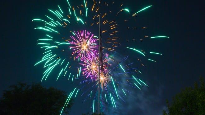Fourth of July in Arizona