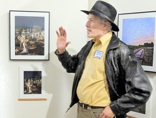 """Norman Doggett won third place in Details for his """"Mariachi"""