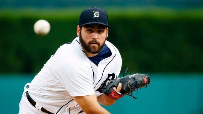 Detroit Tigers pitcher Michael Fulmer.