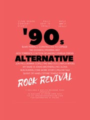 Take in two nights of '90s alternative rock music Sept.16-17 at The Space Concert Club in West Salem.