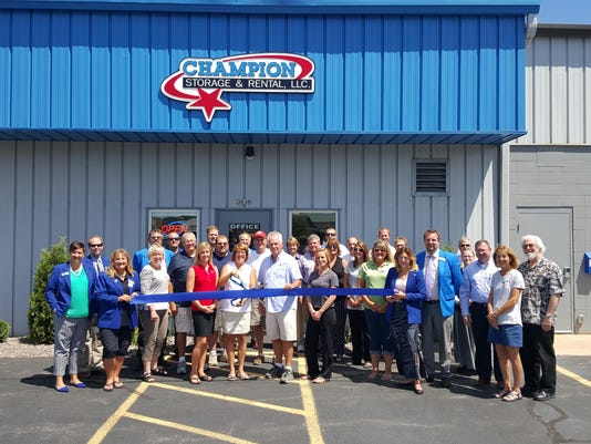 Ribbon Cutting Picture July 29, 2015