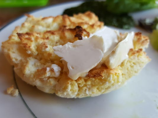 Ketogenic English muffin - many delicious options