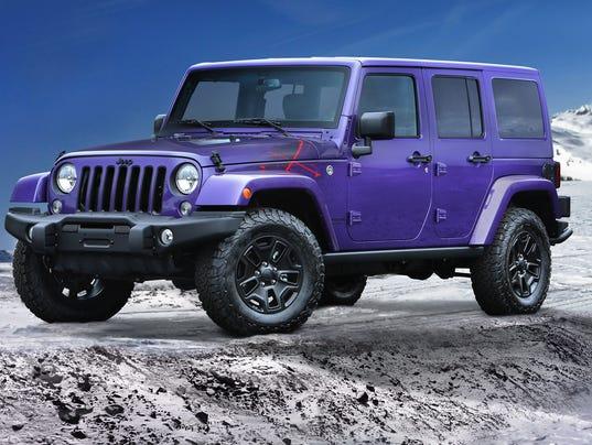Sacrilege Jeep To Make Purple Wranglers