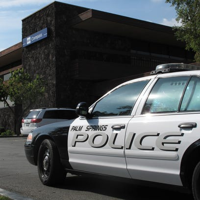 Helicopter circles home in Escena neighborhood in Palm Springs