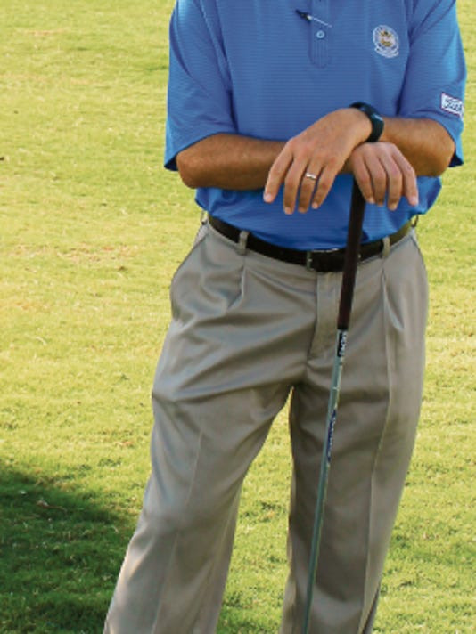 Desert Lakes Golf Course General Manager Grant Dalpes won the prestigious Horton Smith Award. Dalpes will be presented the award Nov. 2.