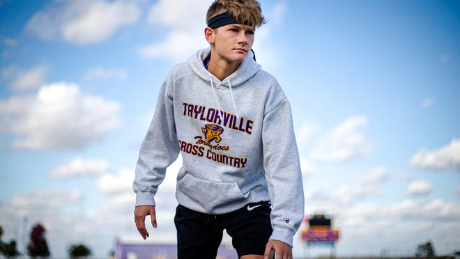 Taylorville High School's Chris Cherry is The State Journal-Register's Large School Boys Cross Country Runner of the Year.
