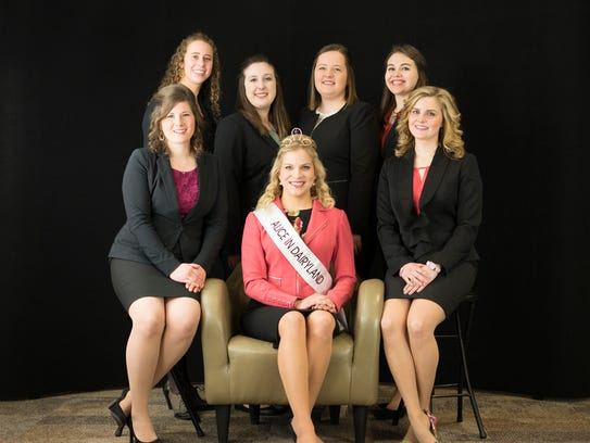 Six top candidates for the 71st Alice in Dairyland