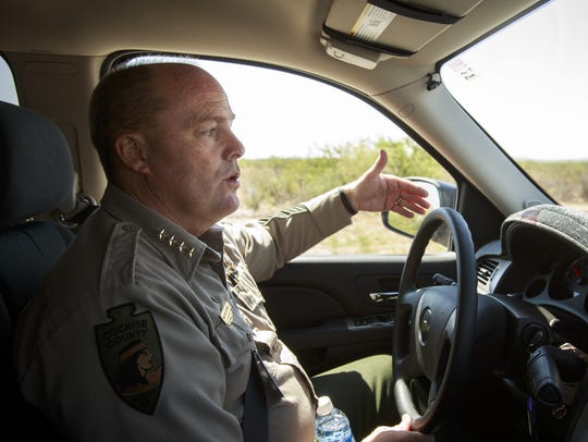 """Immigration is a federal issue,"" Cochise County Sheriff"