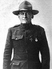 Michael Donaldson, a Medal of Honor recipient who fought in World War I.
