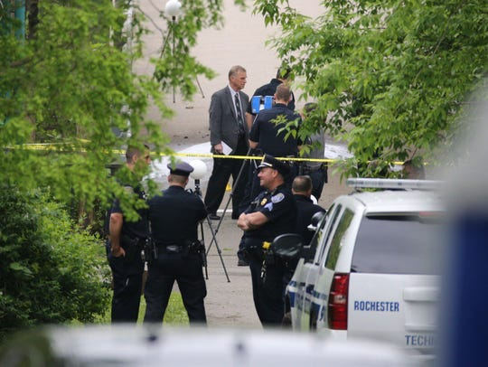 Police on scene of suspicious death investigation at