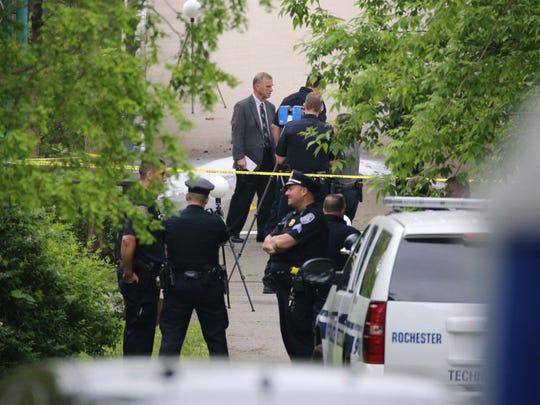 Police on scene of suspicious death investigation at