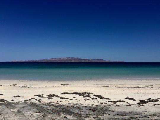A beach in Baja