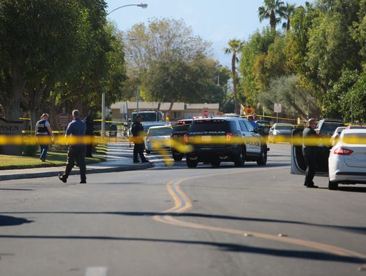 Indio officer-involved shooting