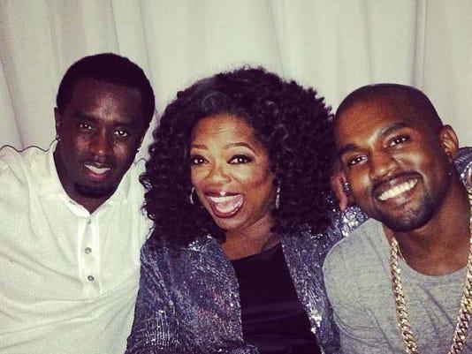 Oprah Diddy Kanye