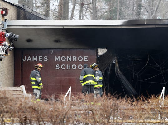 Charred James Monroe School.jpg