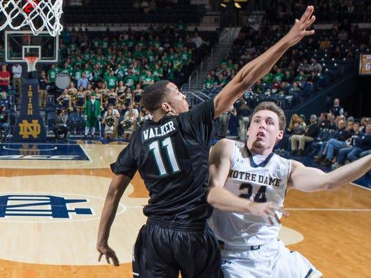NCAA Basketball: Binghamton at Notre Dame