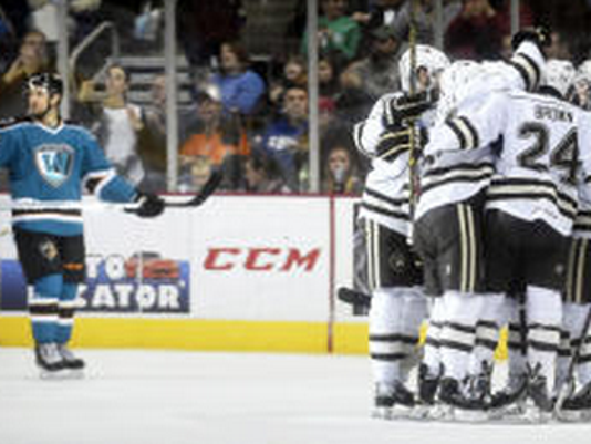 Hershey will travel to Worcester Friday night to start their Calder Cup playoff run against the Sharks at 7 p.m.