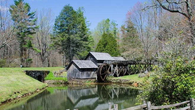 The Mabry Mill restoration on the Blue Ridge Parkway.