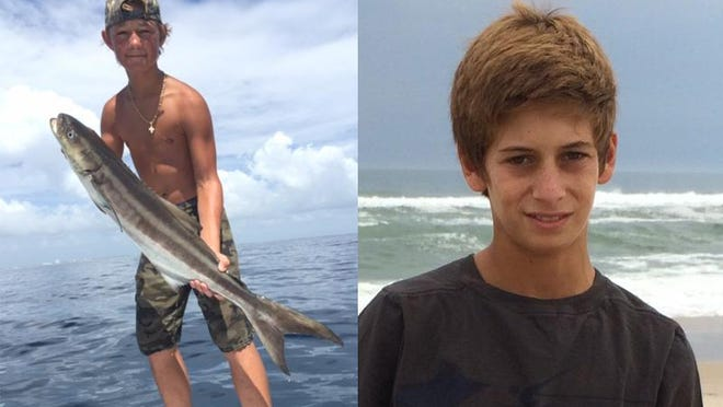 Austin Stephanos, left, 14, and Perry Cohen, 14, were reported missing on Friday.