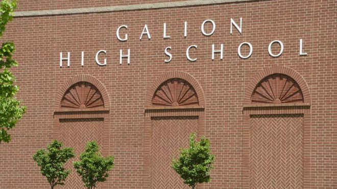 Galion high school opened for the 2007-2008 school year.