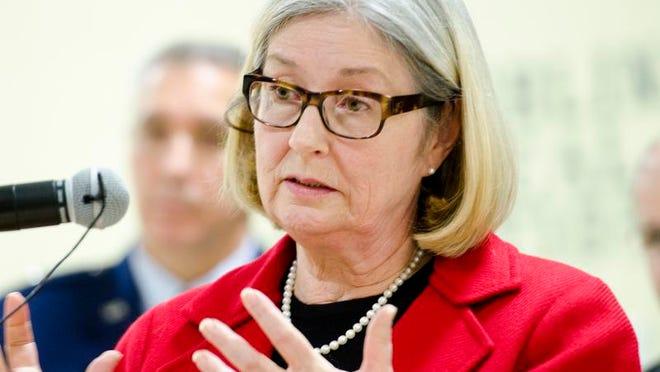 Pam Mackenzie, Chair of the South Burlington City Council, pictured Dec. 9, 2013.